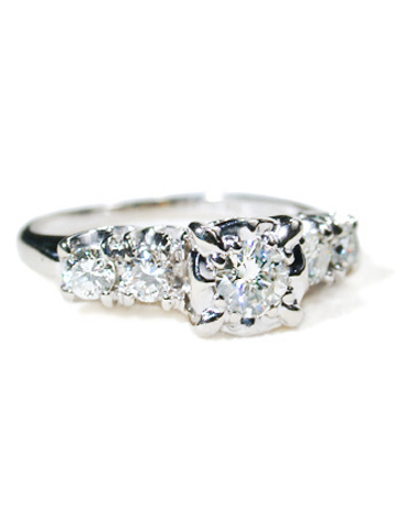 Karlan & Bleicher Vintage Diamond Ring