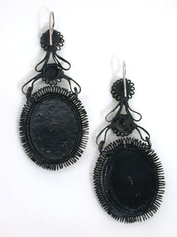 Historical Berlin Iron Earrings