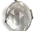 Future & Past: Edwardian Rock Crystal Locket