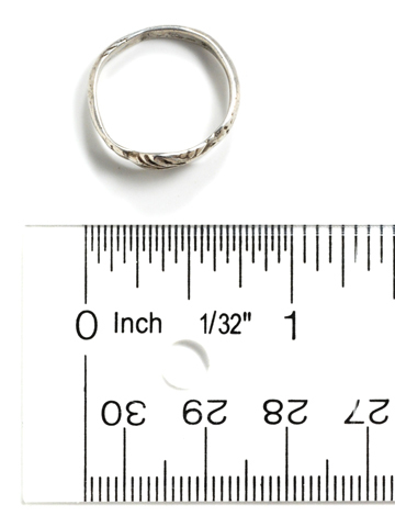 Ancient Roman Fede Ring of Silver
