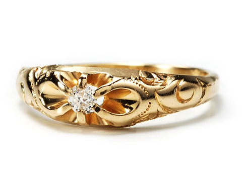 Edwardian Sparkle in a Diamond Ring