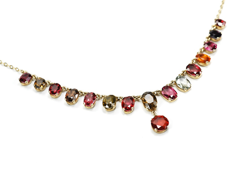 Rainbow's End - Gem Set Necklace