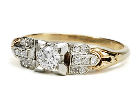 American Beauty Diamond  Ring