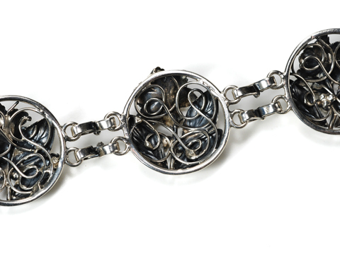 A Rose by Any Name: Hobe' Sterling Bracelet