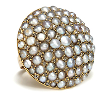 Umbrella of Luxury - Pearl Diamond Ring