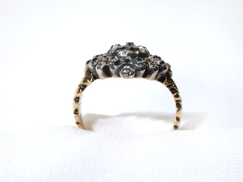 Georgian Old Mine Cut Diamond Ring