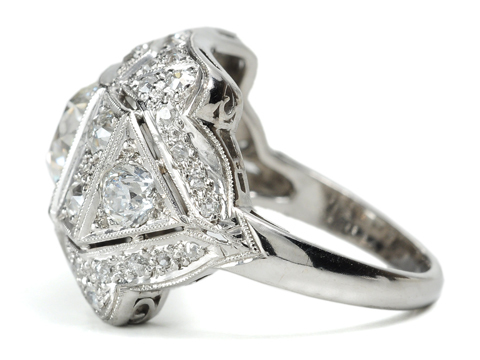 Desire & Purpose - Diamond Ring of 1.75 C.