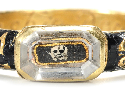 Early 18th Century Stuart Crystal Skeleton Ring