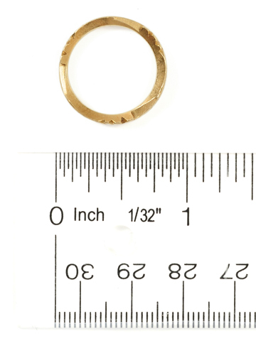 Plain Sentiment: Georgian Memorial Ring of 1758