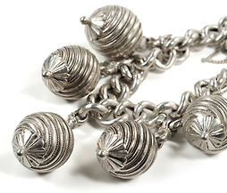 All a Buzz - Silver Statement Bracelet