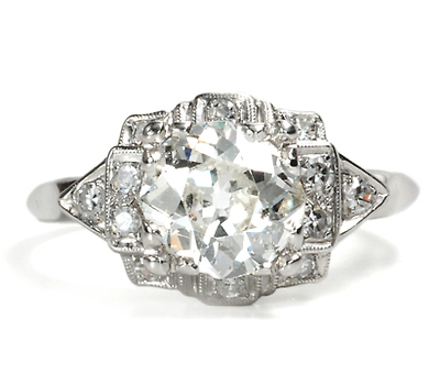 Exquisite Diamond Ring of 1.3 Carats