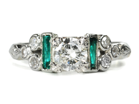 Green with Diamond Envy - Engagement Ring