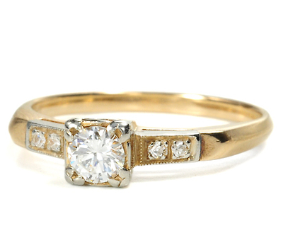 Sunshine in a Diamond Ring