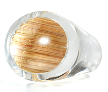 Cool as a Rock Crystal Ring