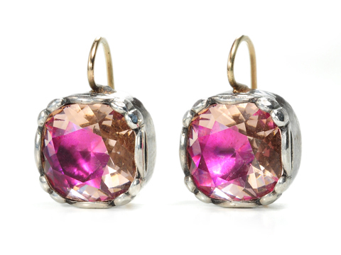 Pretty in Pink - Paste Earrings