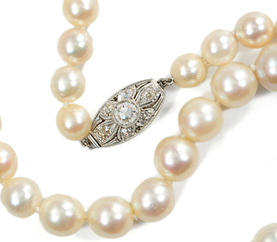 Winter Wonderland - Akoya Pearl Necklace