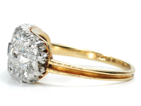 Accolades: Edwardian Platinum Diamond Ring