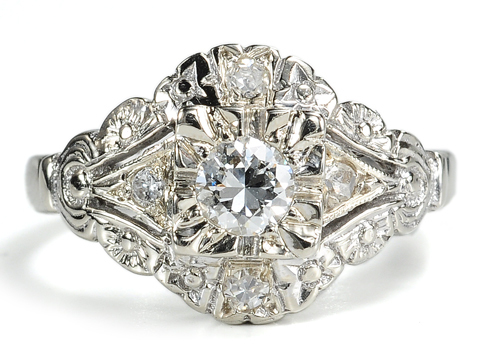 20th C. Beauty of a Diamond Ring