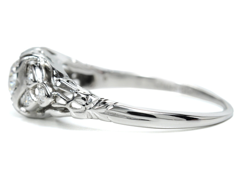 Hearts Afire - Diamond Vintage Ring