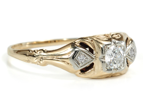Art Deco Vintage Diamond Ring