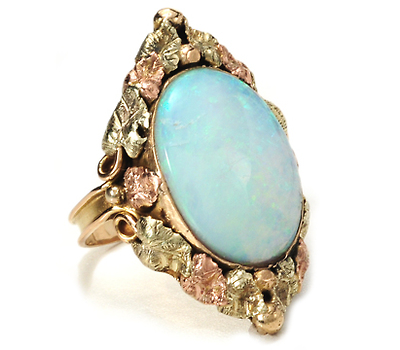 American Beauty - Large Opal Ring