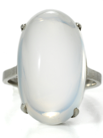 Art Deco Moonstone Marvelous Ring