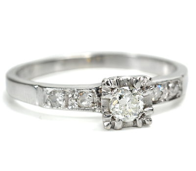 Vintage Advantage Diamond Ring
