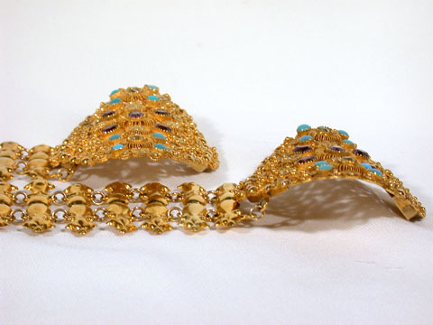 Magnificent Georgian Cannetille Bracelets