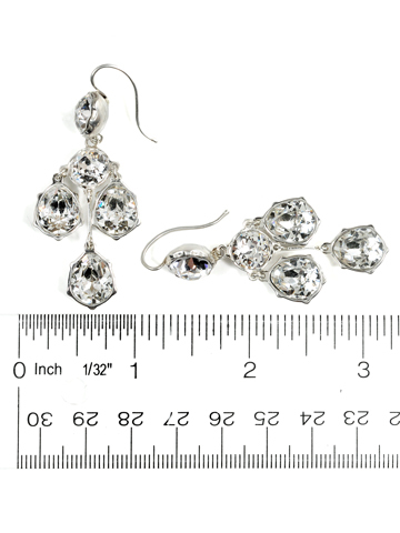 Earrings of a Lifetime: Girandole Paste Earrings