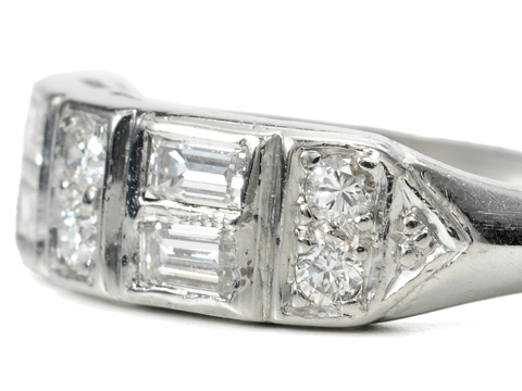 Platinum Band of Diamonds