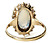 Early 20th C. Moonstone Diamond Vintage Ring