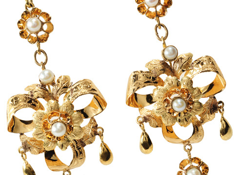 Ephemeral Edwardian Chandelier Earrings