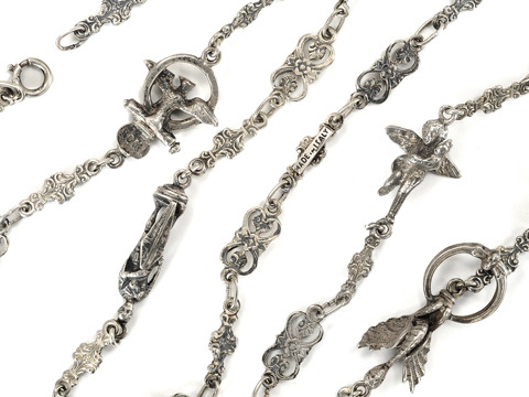 Inspiration of Italy - Allegorical Silver Chain