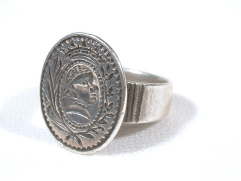 17th Century Dutch Merchant Ring of Silver