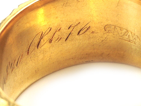 A Memory of 1820 - Wide Memorial Band
