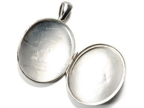 Victorian Sentimentality in a Silver Locket