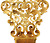 Magnificent Edwardian Hair Comb of Solid Gold