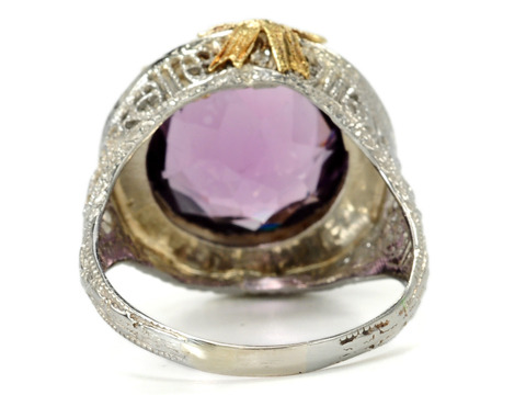 Reigning Queen in an Amethyst Ring