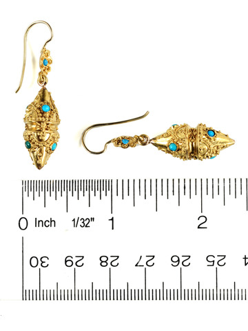 Antique Archaeological Revival Earrings