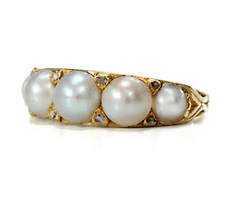 Antique Pearl of a Victorian Ring