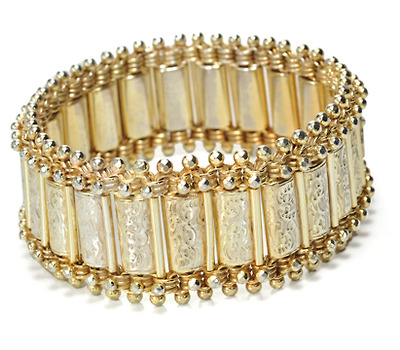 Traveling in Style - English Victorian Bracelet