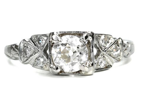 Luck & Fate in an Art Deco Diamond Ring