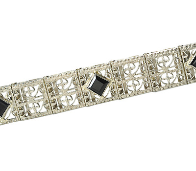 Signed Belais Bros. Art Deco Bracelet