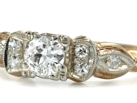 Late Art Deco Diamond Ring