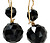 Victorian Onyx Drop Earrings
