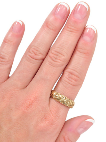 Now & Forever: Floral Eternity Band