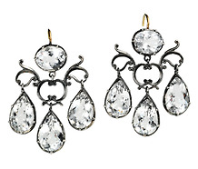 Sheer Elegance in a Girandole Earring