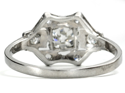 Art Deco DeLuxe  Diamond Ring