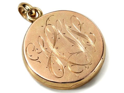 Clash of the Titans: Art Nouveau Locket