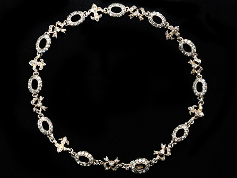 Wondrous Edwardian Garland Necklace